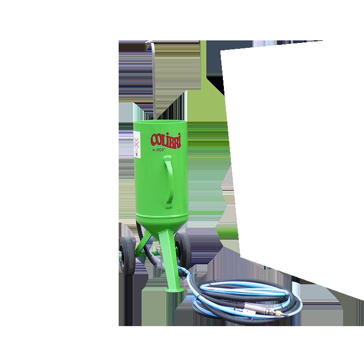 equipo de sand blast baja presion colibri acf mexico