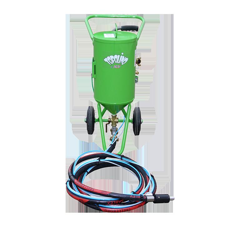 equipo de sand blast baja presion topolino 18