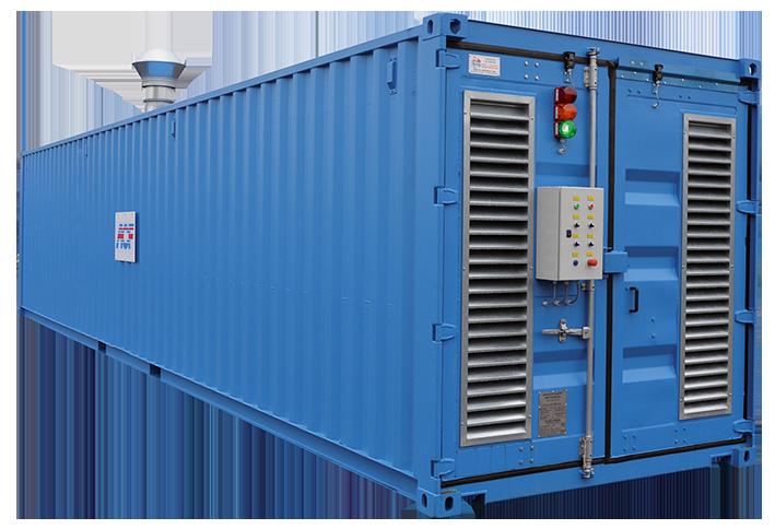 cabina container de chorreado